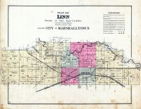 Linn and the City of Marshalltown, Marshall County 1885